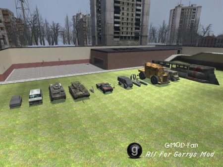 Half-Life 2 Beta Vehicles
