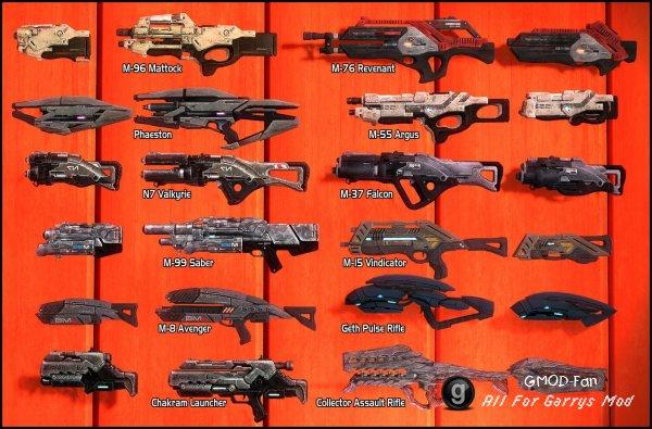 Mass Effect: Weapons