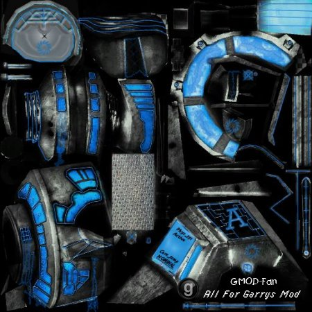 Quantum leak Physgun skin v.2