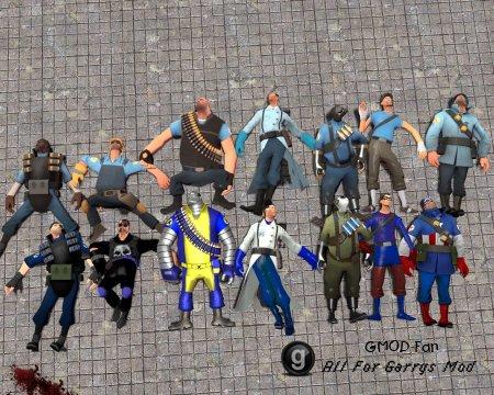 TF2 World's Greatest skin pack (Marvel skins) hexed