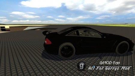 mercedes black wheel