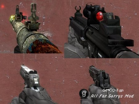Hl2 weapon replaces full