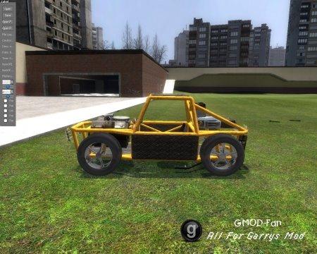 Моя первая машина на Enegine Mod