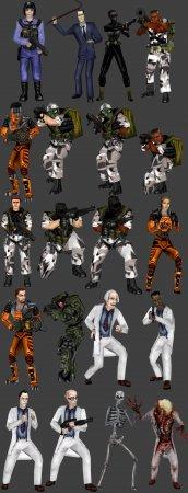 Half-Life: Source Playermodels