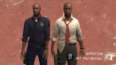 L4D Officer Louis hexed