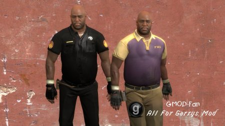 L4D2 New Orleans Police Coach hexed