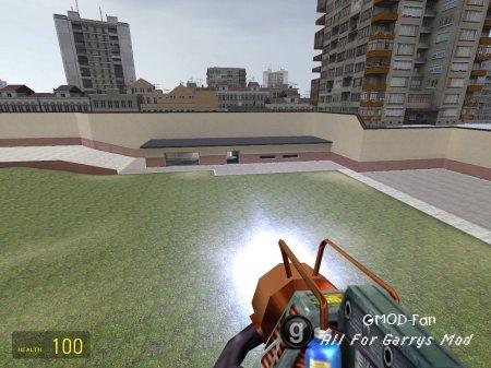 HL1 Gauss Gun Physgun model