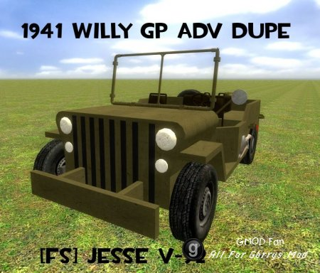 Willy GP AdvDupe WWII WW2