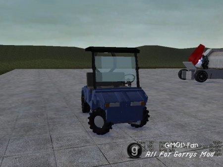 Butler's Golf Cart