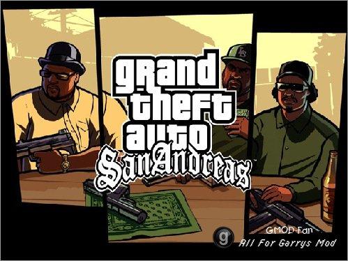 Собранный мною контент GTA-San Andreas(Полная версия).Made by TolikVoroshilov.