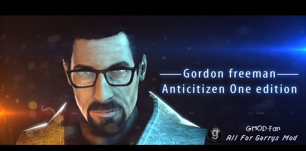 Gordon Freeman Anticitizen One edition
