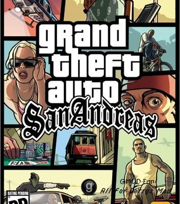 Контент GTA-San Andreas(BETA)Made by-TolikVoroshilov