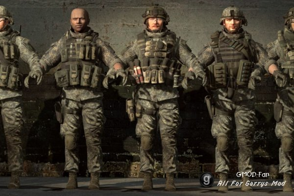 Call of Duty MW3 Rangers