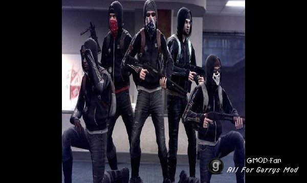 CSGO Anarchists Regdolls