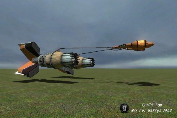 flyable podracer