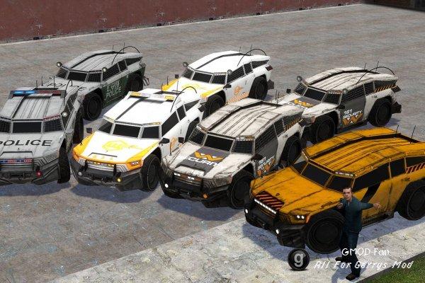 Balik Police Cruiser