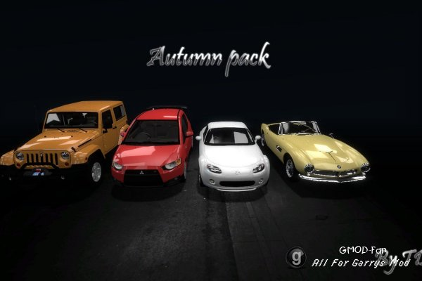 Autumn Car Pack