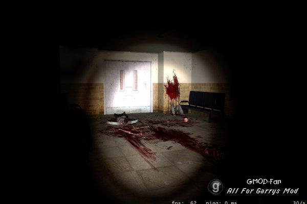 Небольшой контент из игры Nightmare House 2