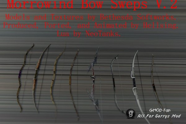 Tes:III Bow Sweps Version 2.0