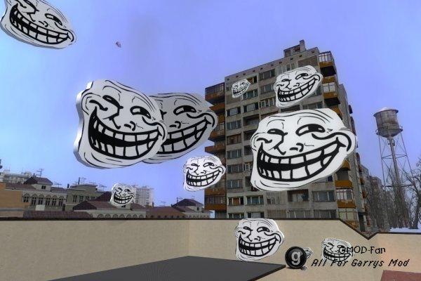 Новая модель trollface