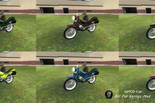 SligWolfs ColorPack(Motorbike)