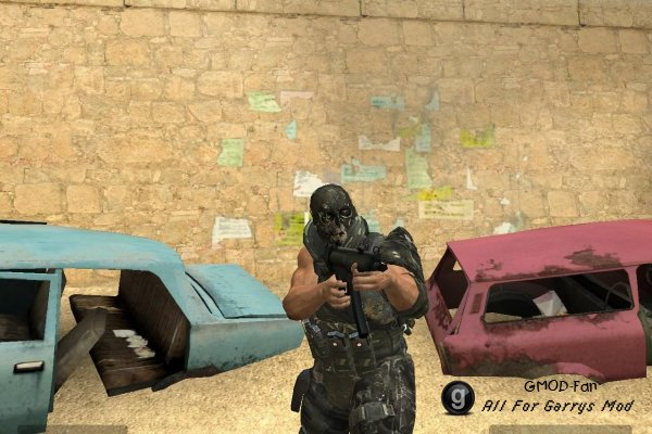 Army Of Two player models