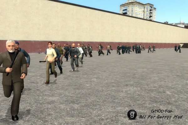 Half Life 2 Npcs Enemy V2.0 Final Version