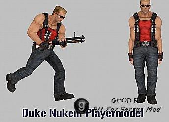 Duke Nukem Playermodel