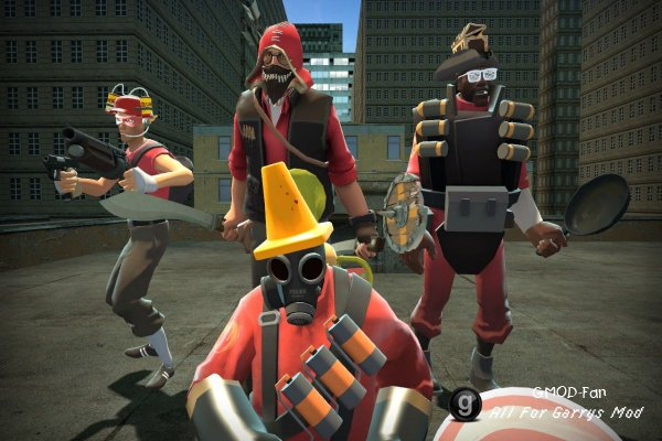 team fortress 2 weapons