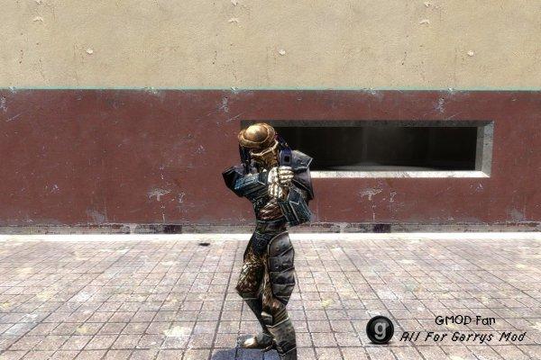 Alien and Predator player model pack