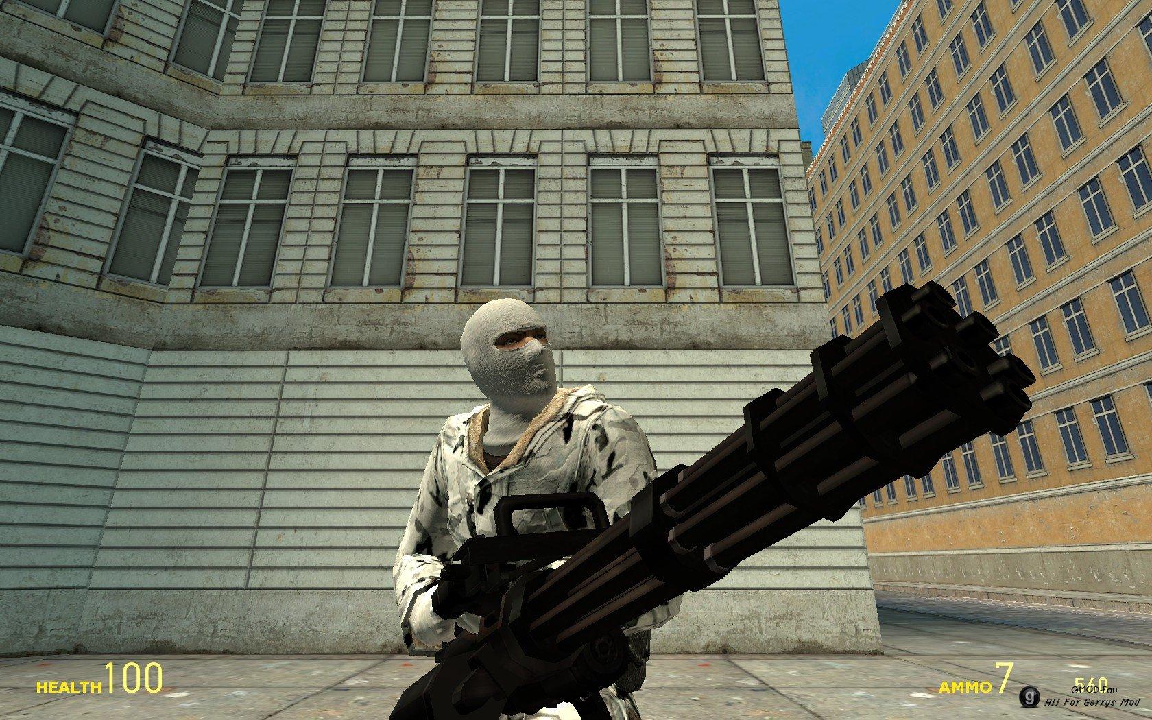 Обзор аддонов для garry's mod #17 (m9k assault rifles, m9k heavy.