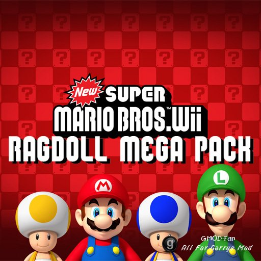 New Super Mario Bros Wii MEGA Pack