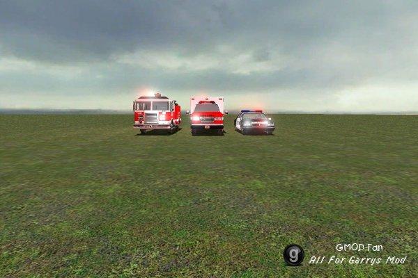 Emergency Vehicles Package