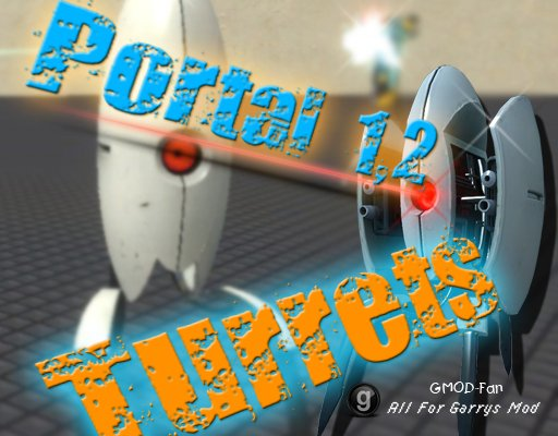 Portal 1 and 2 Turrets