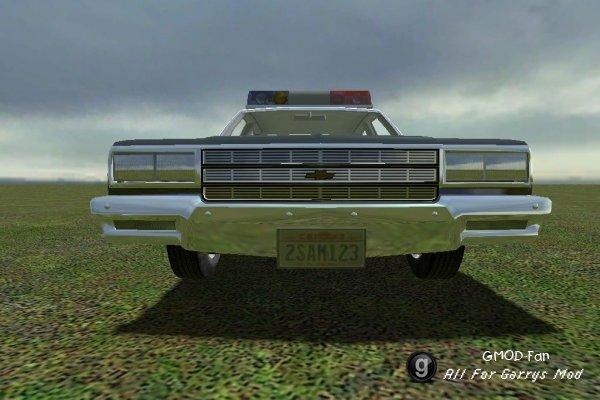 drivable police impala