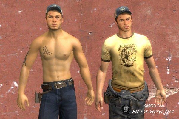 L4D2 Ellis shirtless hexed