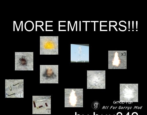 More Emitters