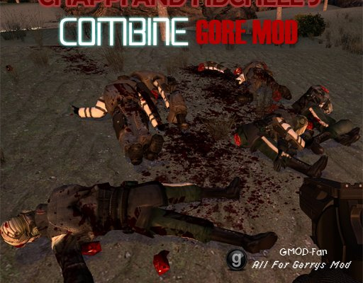Chappi and Fidchell's Combine Gore Mod