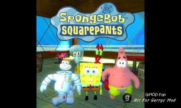 SpongeBob SquarePants: Ragdoll Pack