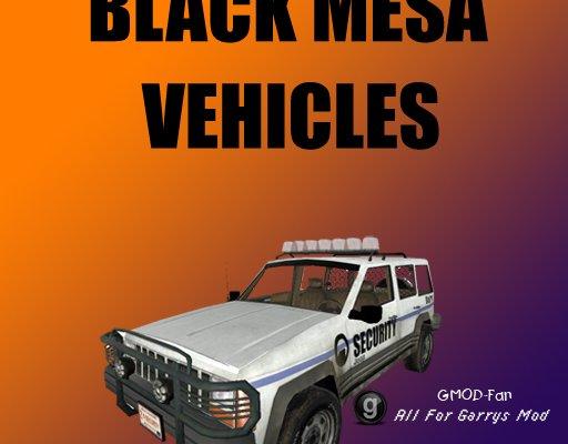 Black Mesa Vehicles