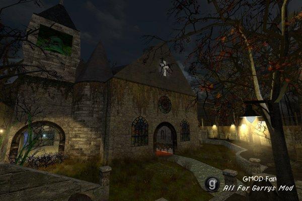 Nightmare Church - Map