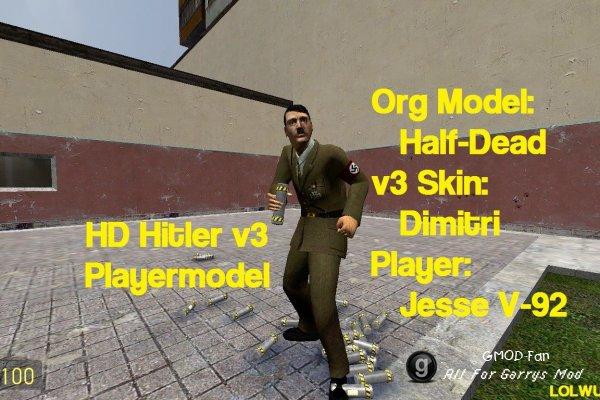 HD's Hitler v3 Playermodel