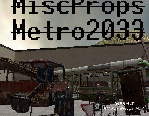Metro 2033 Misc Props