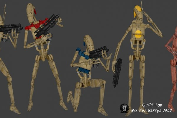 Star Wars Battledroids