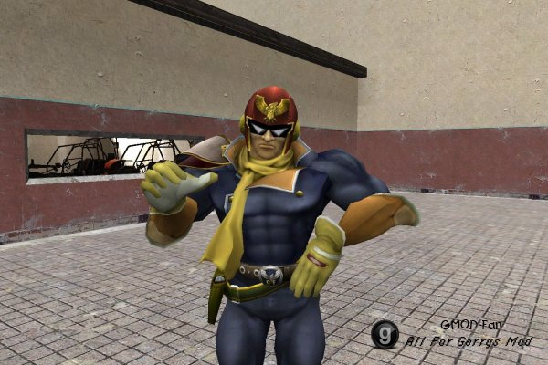 SSBB Teaser Captain Falcon