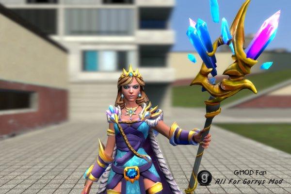 Dota 2 - Crystal Maiden