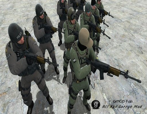 CS:GO SWAT and FBI