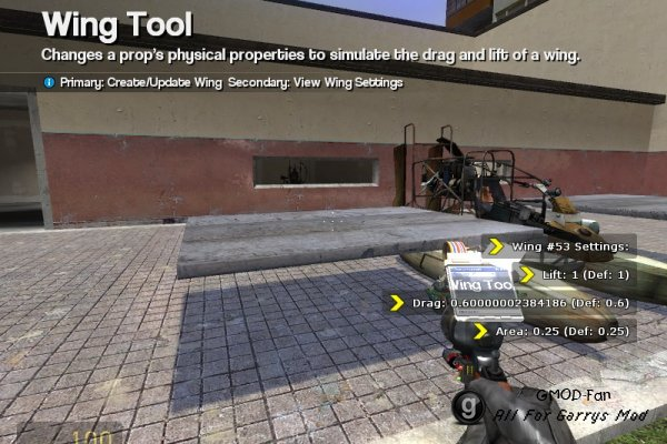Wing Tool Version 1.2