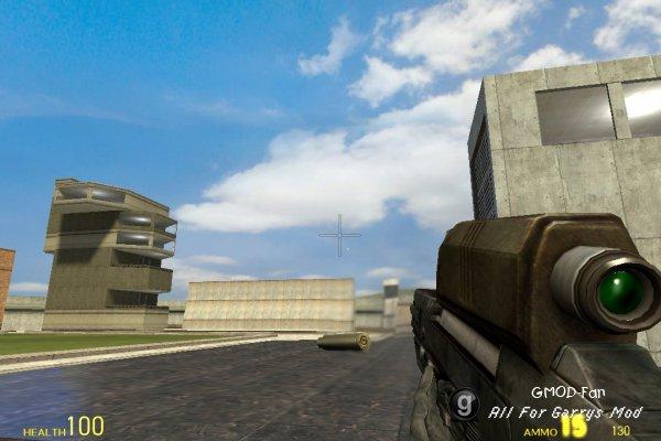 OICW w/ Grenade Launcher