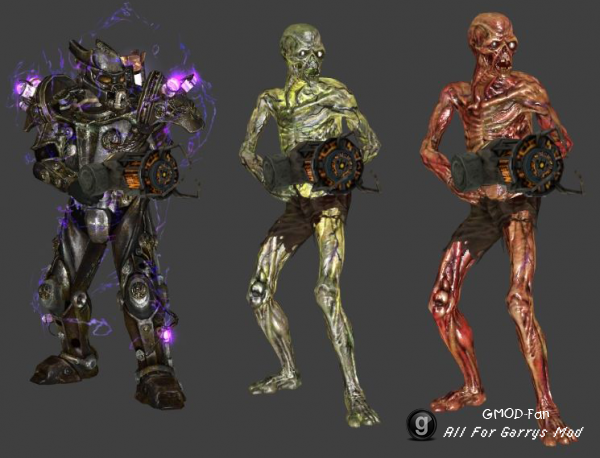 Fallout 3 Player Models